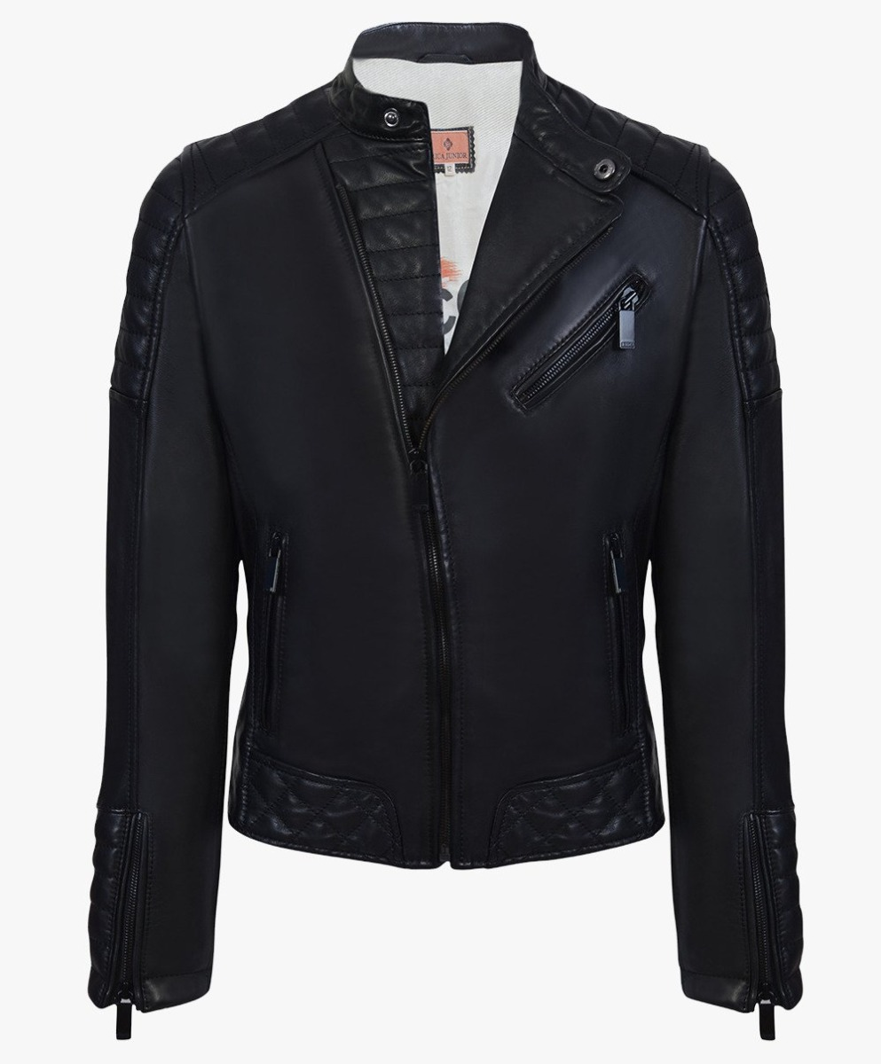 Leather Biker Jacket Junior